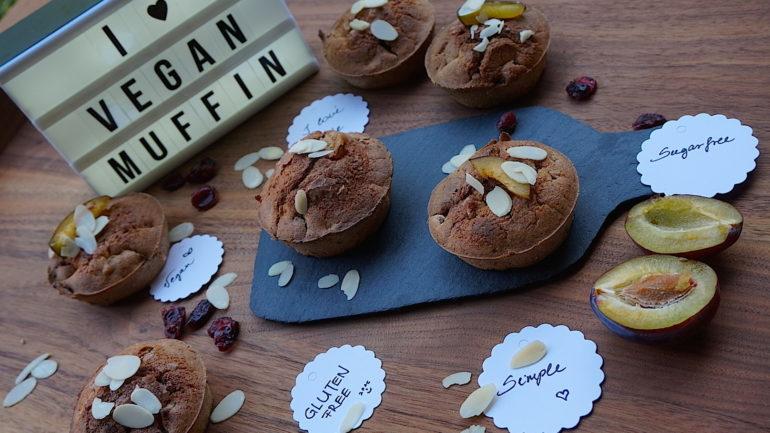 A prológ kommentár, a narancsos, szilvás vegán muffin kompromisszumok nélkül